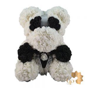 Foam Rose Teddy Bear