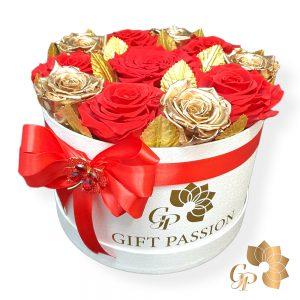 Flowerbox Longlife Roses